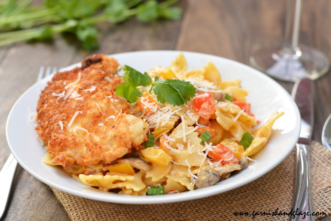 Louisiana Chicken Pasta | Garnish & Glaze