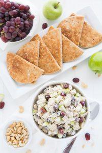 Chicken Salad Pitas   Garnish & Glaze