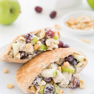 Chicken Salad Pitas | Garnish & Glaze
