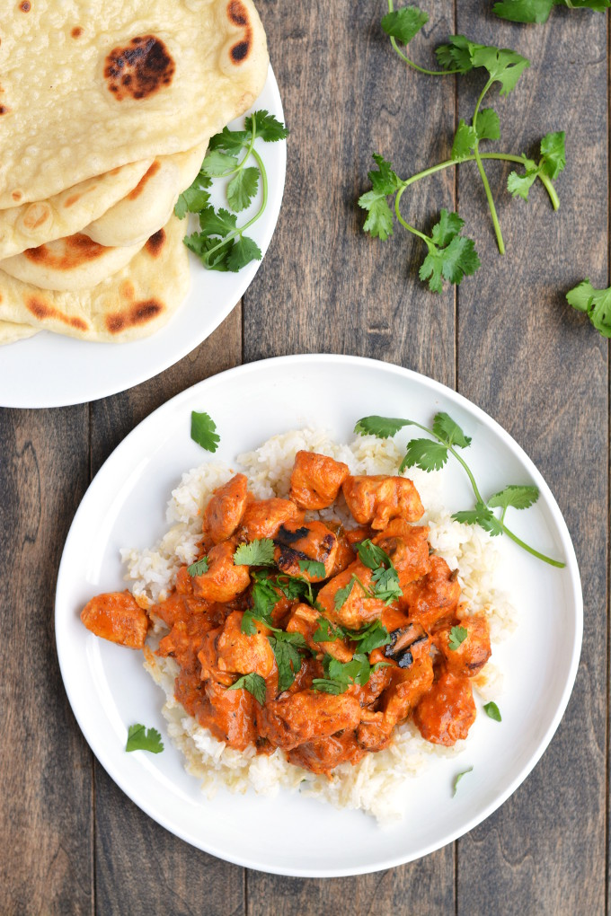Chicken Tikka Masala | Garnish & Glaze