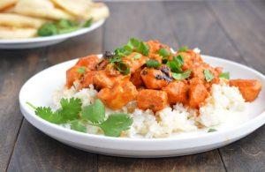 Chicken Tikka Masala   Garnish & Glaze