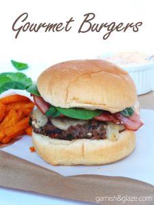 Gourmet Burgers | Garnish & Glaze