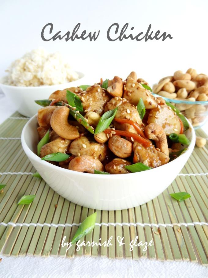 cashew chicken label