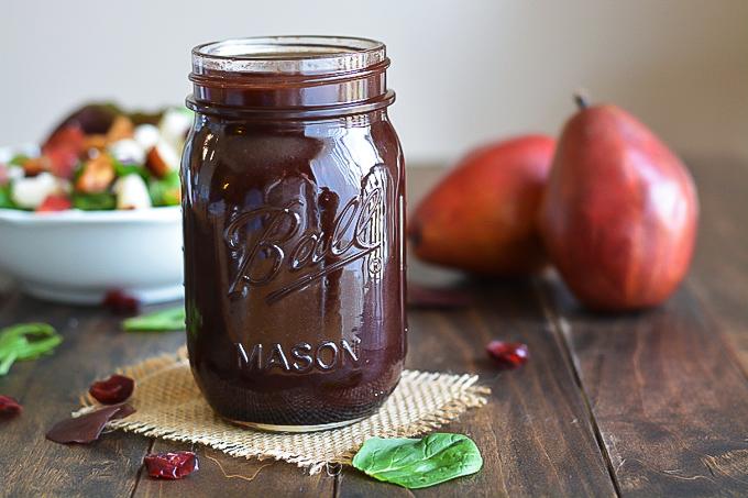 Dark Cherry Balsamic Vinaigrette | Garnish & Glaze
