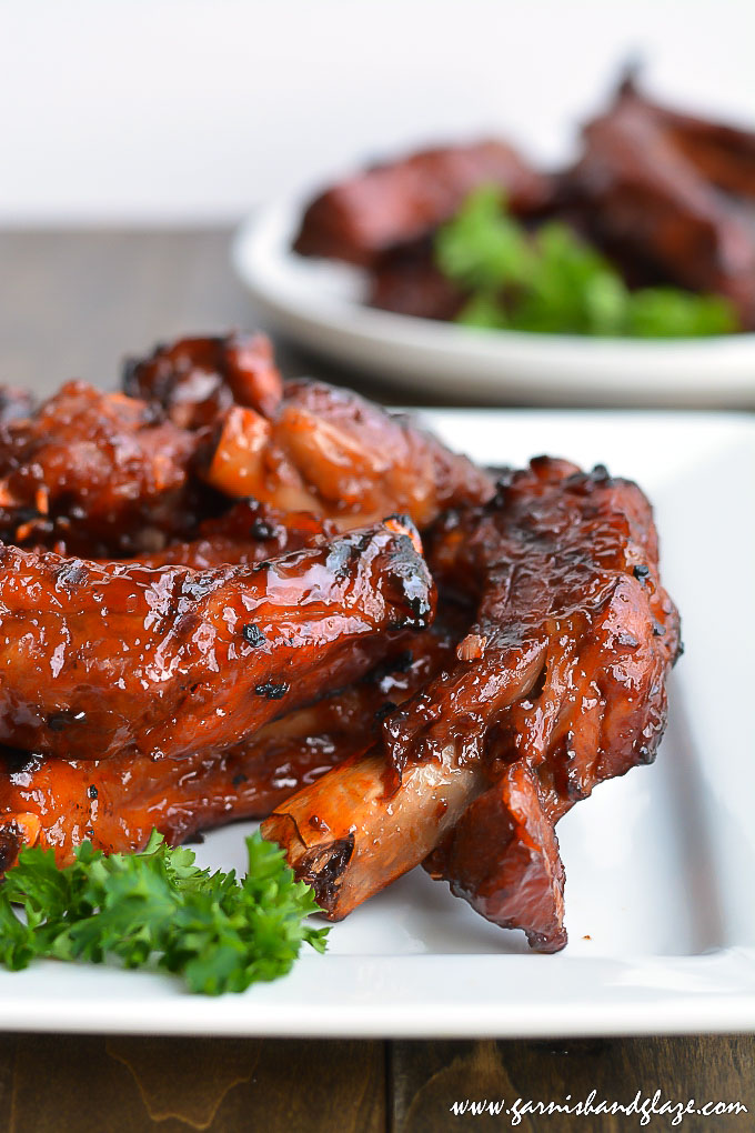 Finger lickin' Baby Back Ribs