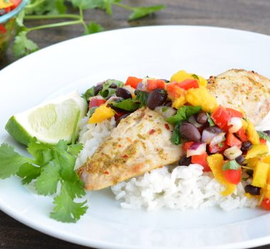 Tilapia with Mango Salsa | Garnish & Glaze