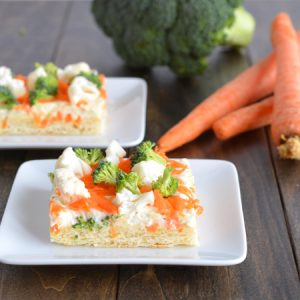 Veggie Bars | Garnish & Glaze