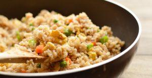 Vegetable Fried Rice   Garnish & Glaze