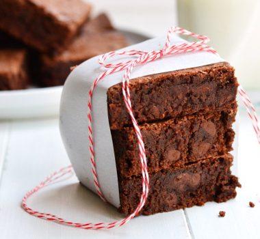 Double Chocolate Brownie | Garnish & Glaze