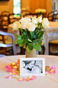 Wedding Center Piece | Garnish & Glaze