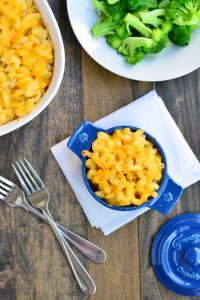 Baked Macaroni & Cheese | Garnish & Glaze