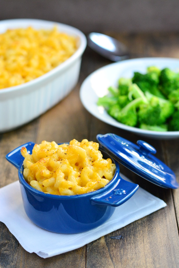 Baked Macaroni & Cheese | Garnish & Glaze
