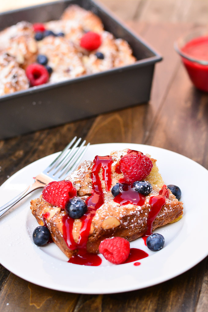french cheese baked french toast french toast casserole with french ...