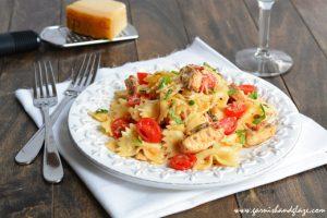 Grilled Chicken Pasta Salad   Garnish & Glaze