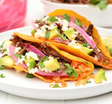 Sweet Potato Tacos | Garnish & Glaze