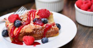 Overnight Coconut-Almond French Toast Casserole | Garnish & Glaze