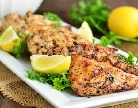 Grilled Lemon Pepper Chicken | Garnish & Glaze