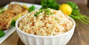Simple Orzo Rice Side Dish | Garnish & Glaze