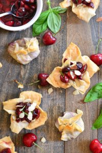 Cherry Purses and Cups | Garnish & Glaze