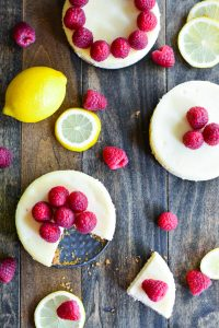 Raspberry Lemon Cheesecake | Garnish & Glaze