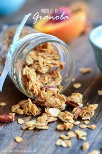 Vanilla Nut Granola | Garnish and Glaze