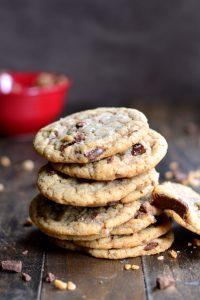Salted Chocolate Chunk & Toffee Ice Cream Sandwiches | Garnish & Glaze