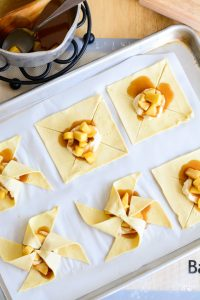 Cream Cheese Caramel Apple Pinwheels | Garnish & Glaze