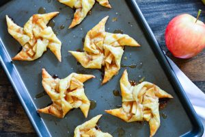 Cream Cheese Caramel Apple Pinwheels | Garnish & Glaze