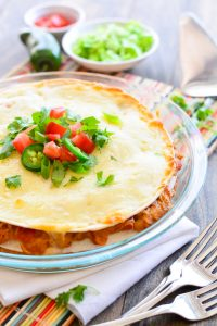 Creamy Chicken Taco Pie | Garnish & Glaze