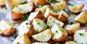 Garlic Roasted Red Potatoes   Garnish & Glaze