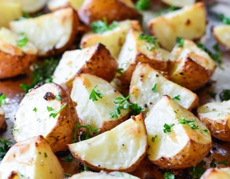 Garlic Roasted Red Potatoes