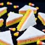 Candy Corn Sugar Cookie Bars | Garnish & Glaze