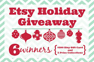 Etsy Holiday Giveaway | Garnish & Glaze