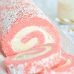 Pink Velvet Swiss Roll | Garnish & Glaze
