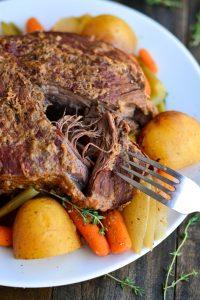 Pot Roast- 3 Ways   Garnish & Glaze