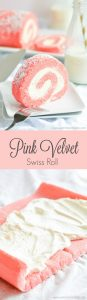 Impress your family and friends with this yummy creamy filled Pink Velvet Swiss Roll that is a lot easier to make than you might think.