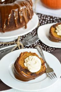 Chocolate Chunk Pumpkin Cake | Garnish and Glaze