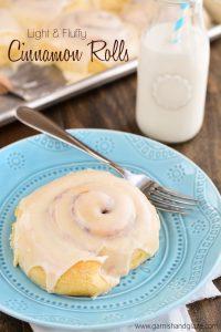 Crescent Rolls & Cinnamon Rolls made from one dough | Garnish & Glaze