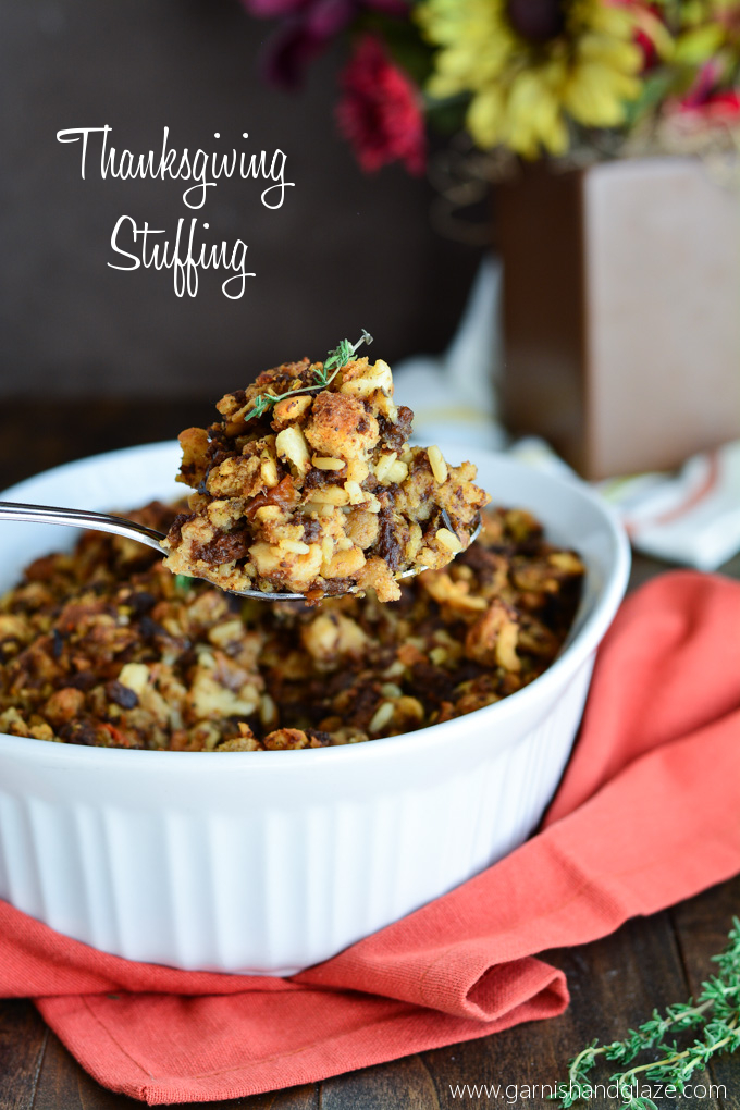 Thanksgiving Stuffing #giveaway | Garnish & Glaze