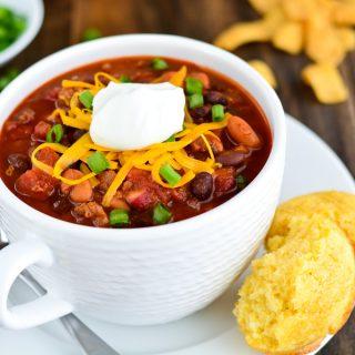 Texas Chili | Garnish & Glaze
