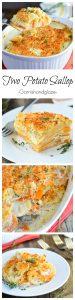 Two Potato Scallop | Garnish & Glaze