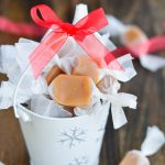 Homemade Christmas Caramels | Garnish & Glaze
