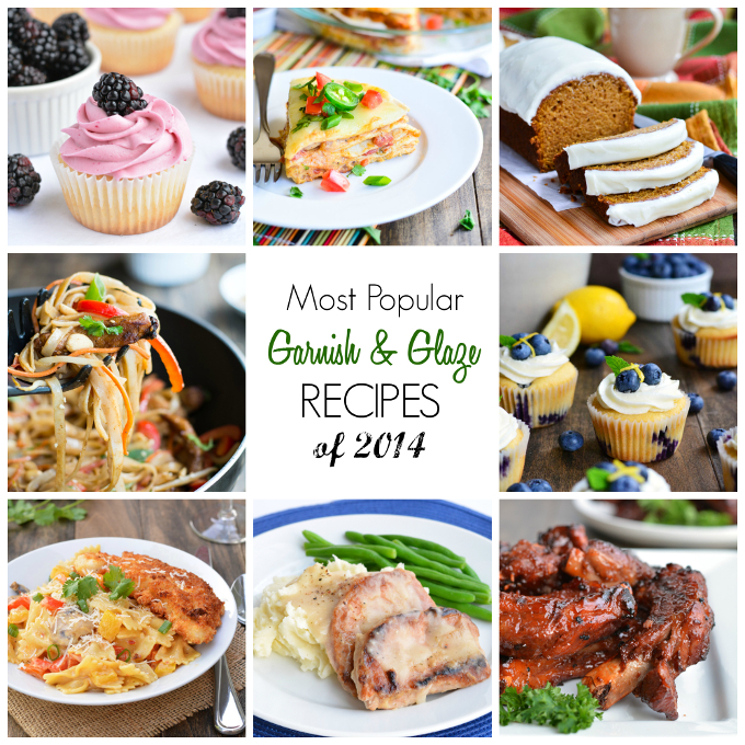 Most Popular Recipes of 2014 | Garnish & Glaze