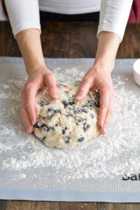 Blueberry Scones | Garnish & Glaze