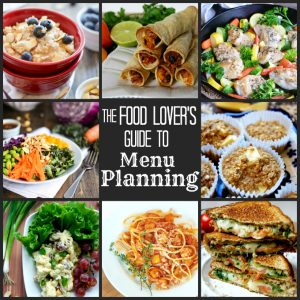Food Lover Guide to Menu Planning
