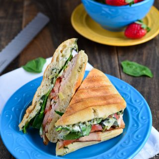 Turkey Spinach Artichoke Panini | Garnish & Glaze