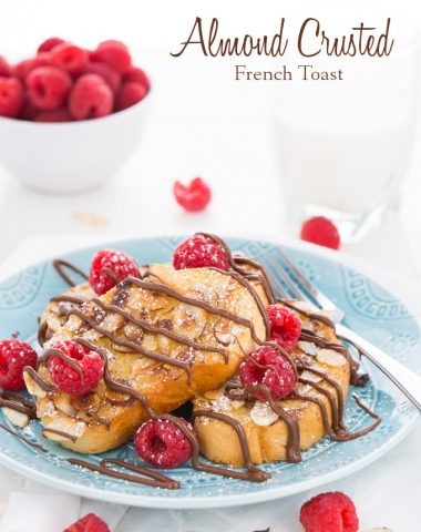 Almond Crusted French Toast | Garnish & Glaze