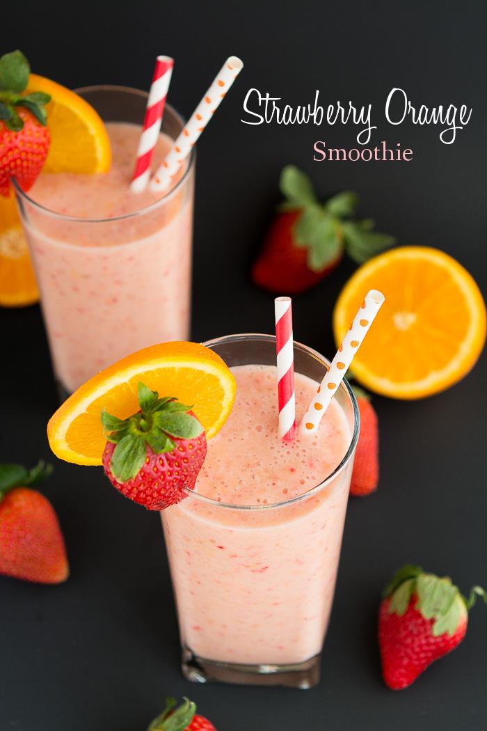 Strawberry Orange Smoothie