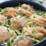 Chicken and Zucchini Indonesian Coconut Rice | Garnish & Glaze