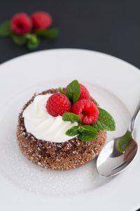 Molten Lava Cakes   Garnish & Glaze